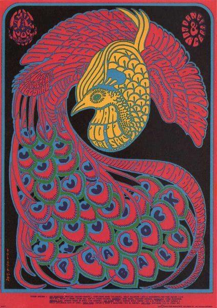 Werk van Victor Moscoso, inspiratiebron van Brouwer