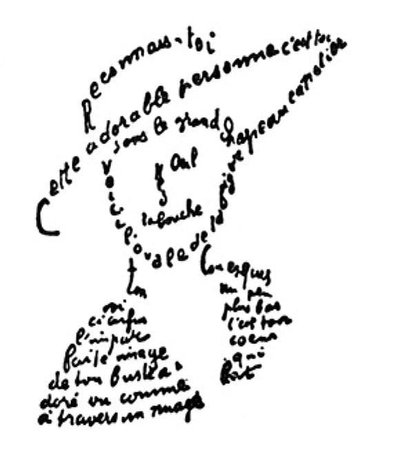 Typografie in de poëzie