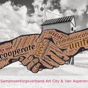 Deze cursus is een samenwerkingsverband tussen Art City en Van Asperen. Alleen in Rotterdam!