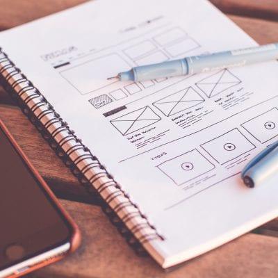 website en UX design